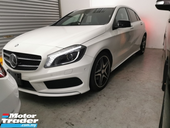 2015 MERCEDES-BENZ A-CLASS A180 AMG 1.6 NIGHT EDITION / TIPTOP CONDITION FROM JAPAN