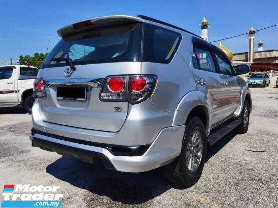 2013 TOYOTA FORTUNER 2013 Toyota FORTUNER 2.7 V FACELIFT (A)