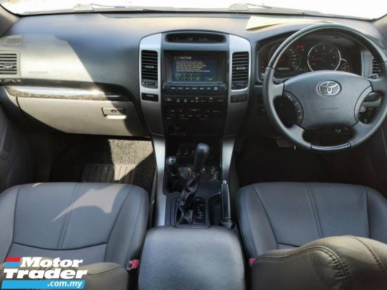 2010 TOYOTA LAND CRUISER Toyota LANDCRUISER INVINCIBLE A 3.0 DISEL (A)