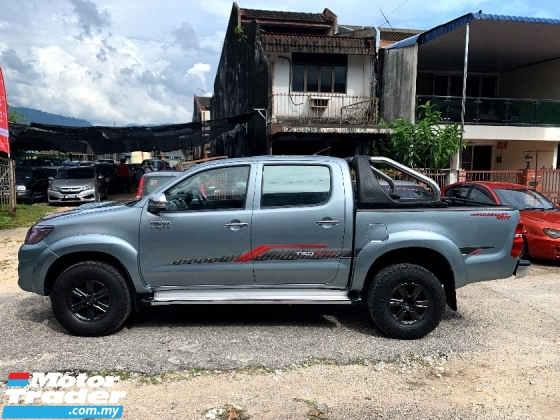 2012 TOYOTA HILUX 3.0 G VNT Pickup Truck(AUTO)FREE MOTOSIKAL BARU+CASHBACK 1K+2 BULAN INSTALLMENT BLACKLIST CAN LOAN B