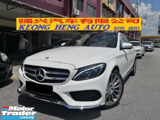 2017 MERCEDES-BENZ C-CLASS C350e 2.0 CKD TRUE YEAR MADE 2017 AMG Mil 10k Only Full Service Hap Seng Warranty 2021