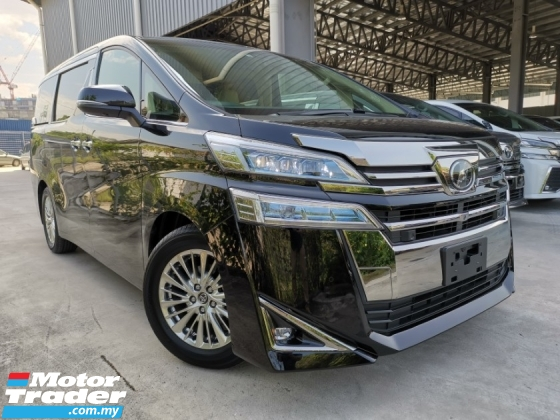 2018 TOYOTA VELLFIRE 2.5 V 3LED DIM POWERBOOT BEIGE INTERIOR BEST UNREG