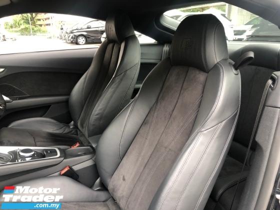 2016 AUDI TT 2.0 S Line Quattro S Tronic Turbo 230hp Matrix LED Virtual Cockpit Dashboard Paddle Shift Unreg