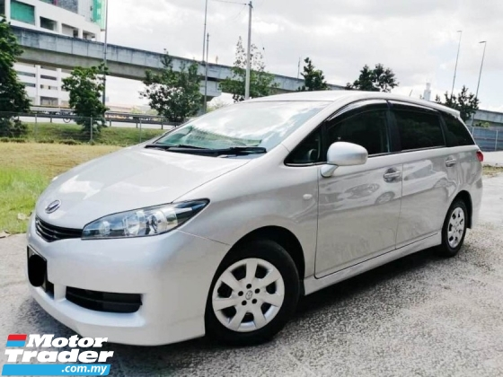 2011 TOYOTA WISH 1.8 1 MALAY LADIES DRIVE TIP TOP CONDITION