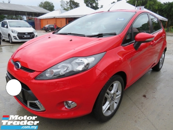 2013 FORD FIESTA 1.6L (A) SPORT ONE LADY OWNER SERVICE ON TIME