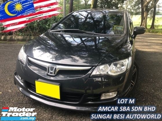 2008 HONDA CIVIC 1.8 i-VTEC (A) FD RR MUGEN [WORTH BUY]