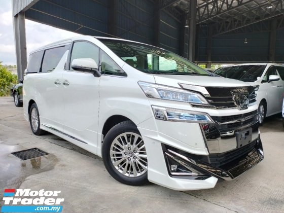 2018 TOYOTA VELLFIRE 3.5 EL Executive Lounge Full Spec Unregister Sun Roof JBL Home Theatre 4Cam ModelistaKits