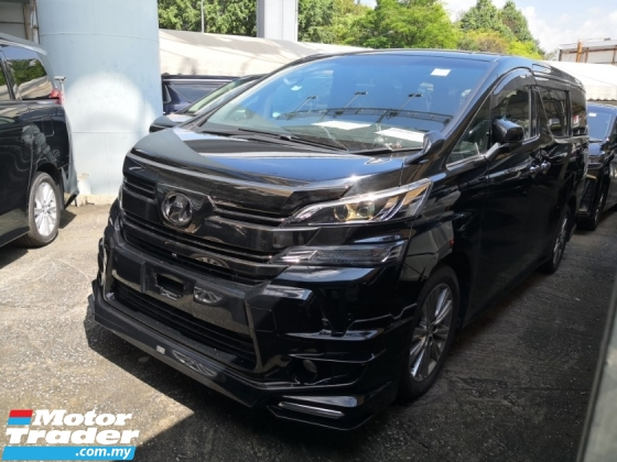 2016 TOYOTA VELLFIRE 2.5 Golden Eyes 360 Cam 2 YEARS WARRANTY Inc SST Unreg