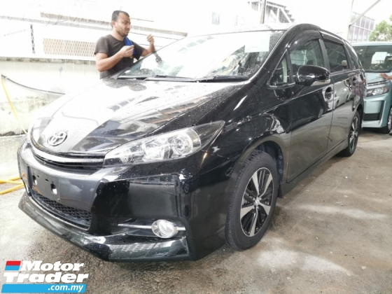 2015 TOYOTA WISH SPORT SPEC 1.8 / READY STOCK NO NEED WAIT / TIPTOP CONDITION FROM JAPAN