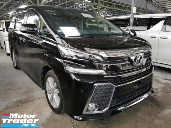 2015 TOYOTA VELLFIRE 2.5 ZA / READY STOCK OFFER / TIPTOP CONDITION