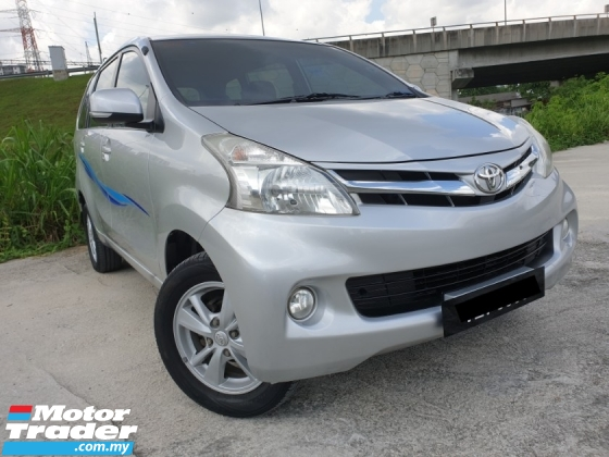 2012 TOYOTA AVANZA 1.5 G FACELIFT (A) MPV KING TIP TOP