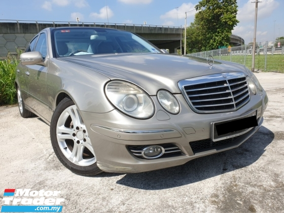 2007 MERCEDES-BENZ E-CLASS E280 AVANTGARDE W211 CAR KING
