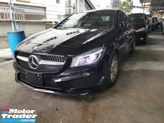 2015 MERCEDES-BENZ CLA 180 1.6 AMG SPORT / READY STOCK NO NEED WAIT
