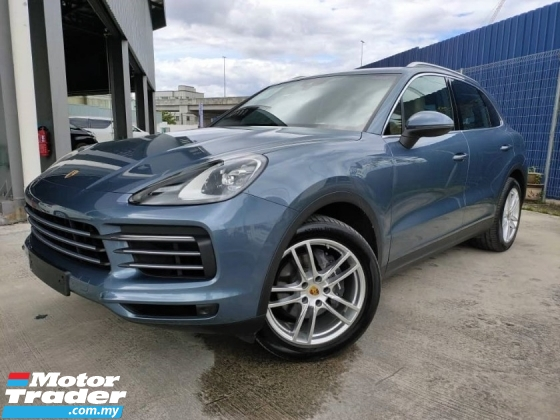 2018 PORSCHE CAYENNE 3.0L TURBO - UK SPEC - SPECIAL COLOR - LOW MILEAGE