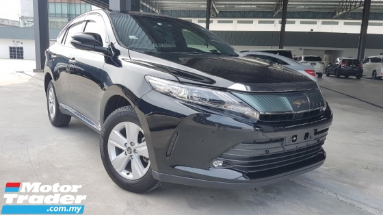 2017 TOYOTA HARRIER 2.0 Facelift PreCrash LDA Unregister Offer