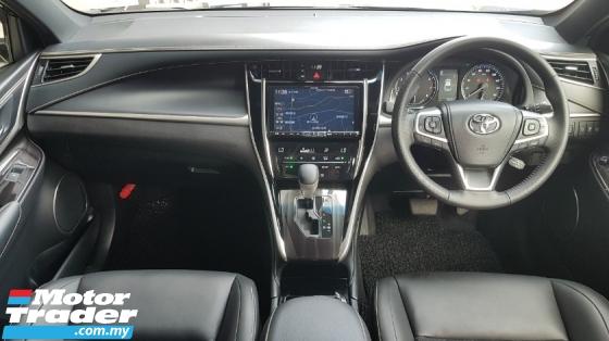 2017 TOYOTA HARRIER 2.0 Facelift PreCrash LDA Unregister Offer