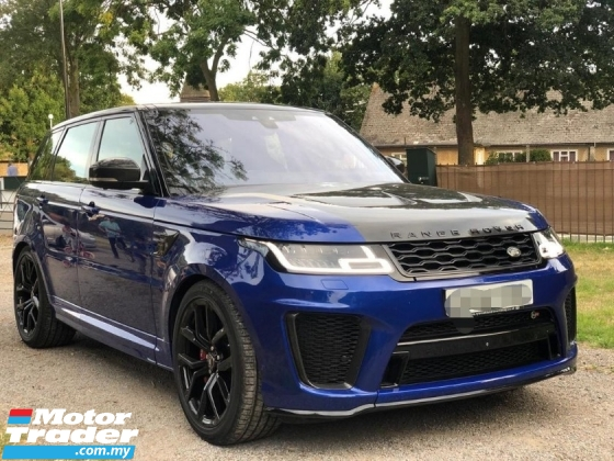 2018 LAND ROVER RANGE ROVER SPORT SVR 5.0 NEW FACELIFT / FULLY CARBON EDITION / DONT MISS OUT THIS TIME