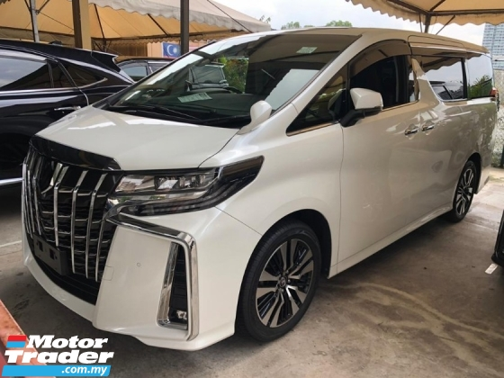 2018 TOYOTA ALPHARD 2.5 SC SUNROOF ALL TAX INCLUDE 50% SST OFF