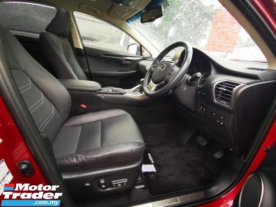 2015 LEXUS NX 200T - SUNROOF - BLACK INTERIOR - UNREG