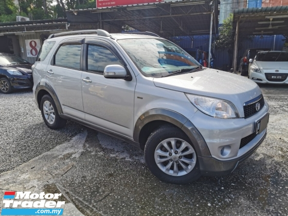 2012 TOYOTA RUSH 1.5 G FACELIFT true year made with full toyota ser