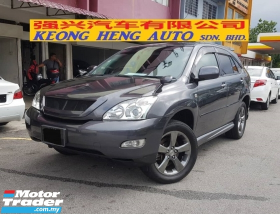 2011 TOYOTA HARRIER 2.4 240G L PACKAGE 4WD