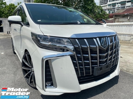 2019 TOYOTA ALPHARD 2.5 SC NEW FACELIFT SUNROOF SPORT RIMS UNREGS