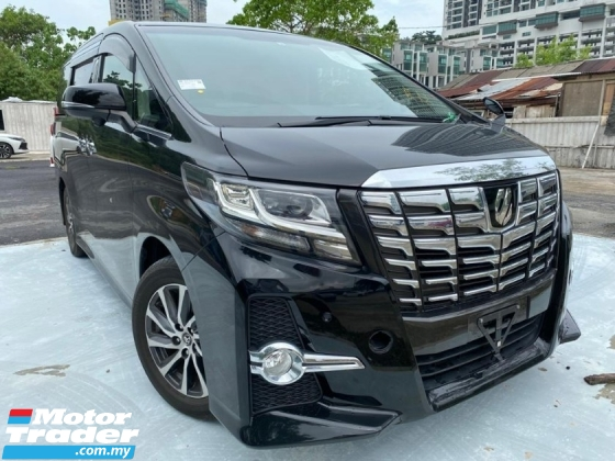 2016 TOYOTA ALPHARD 2.5 S FACELIFT 7 SEATS TWIN POWER DOOR UNREGS