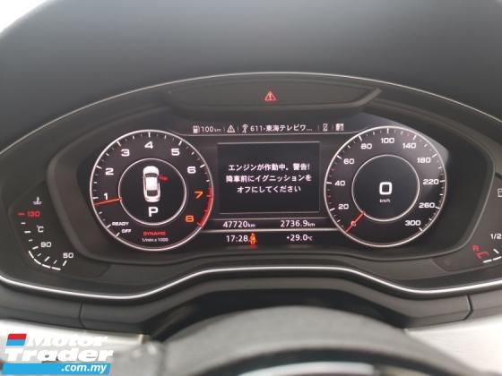 2017 AUDI A5 2.0 SPORTBACK TFSI (A)QUATTRO S-LINE JAPAN SPEC UNREGS