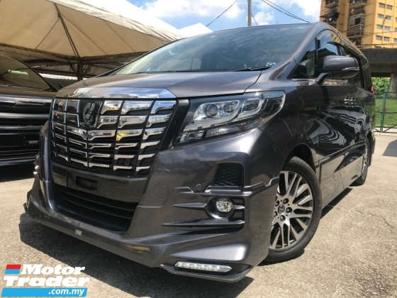 2015 TOYOTA ALPHARD 3.5 SAC JBL 360 PRECRASH FULL SPEC UNREGS