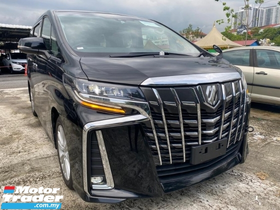 2018 TOYOTA ALPHARD 2.5 S NEW FACELIFT SUNROOF DIGITAL INNER MIRROR UNREGS