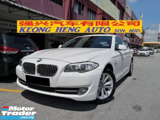 2013 BMW 5 SERIES 520i CKD Local TRUE YEAR MADE 2013 FREE 2 YEARS WARRANTY Mil 81k km only Full Service Auto Bavaria