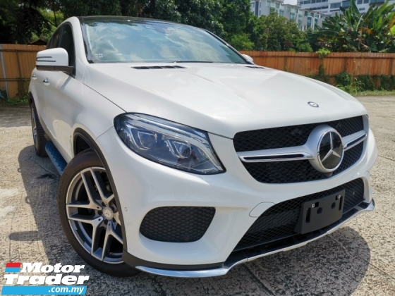 2016 MERCEDES-BENZ GLE GLE350 D 3.0 AMG COUPE PREMIUM JAPAN SPEC UNREGS