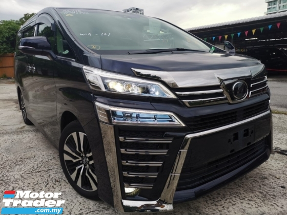 2018 TOYOTA VELLFIRE 2.5 ZG NEW FACELIFT JAPAN SPEC UNREGS