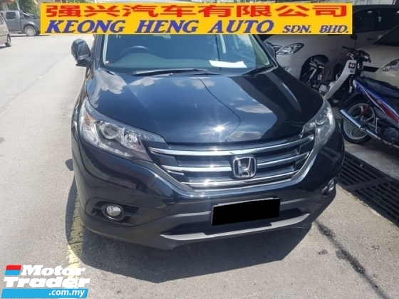 2014 HONDA CR-V 2.4 4WD FACELIFT (FREE 2 YEARS WARRANTY)(CKD)