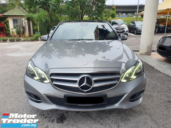 2014 MERCEDES-BENZ E-CLASS E250 CGI AVANTGARDE LOCAL