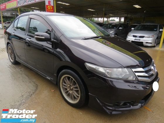 2014 HONDA CITY 1.5E (A) i-VTEC ONE OWNER MUGEN KIT PADDLE SHIFT