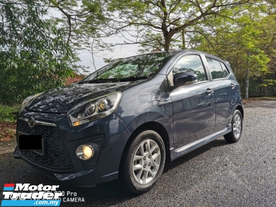 2015 PERODUA AXIA 1.0 ADVANCE FACELIFT (A) - FULL SERVICE RECORD