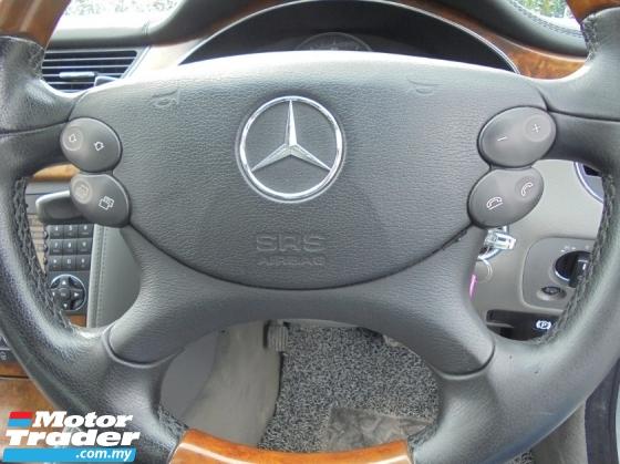 2005 MERCEDES-BENZ CLS-CLASS  CLS350 3.5 V6 C219 AMG LikeNEW Rg.11