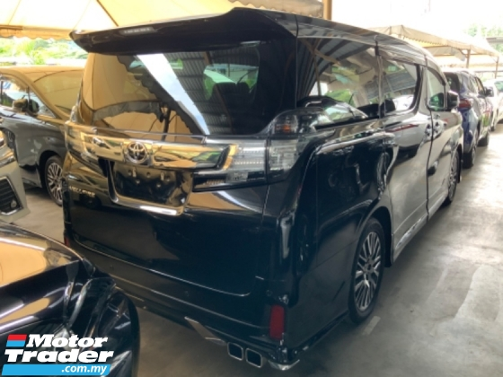 2015 TOYOTA VELLFIRE 2.5 ZG JBL theatre surround camera Modellista bodykit power boot pilot seat unregistered