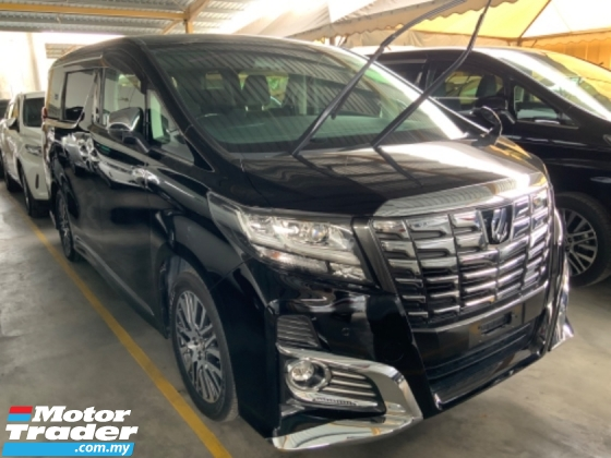 2016 TOYOTA ALPHARD 2.5 SC surround camera power boot 2 power doors pilot seat unregistered