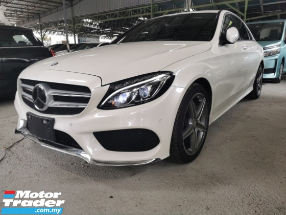 2016 MERCEDES-BENZ C-CLASS C200 AMG 2.0 / TIPTOP CONDITION FROM JAPAN / READY STOCK NO NEED WAIT
