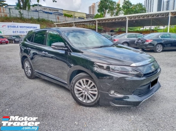2015 TOYOTA HARRIER 2.0 PREMIUM ADVANCED SUV