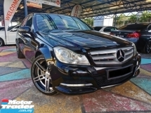 2013 MERCEDES-BENZ C-CLASS Mercedes Benz C180 1600CC W205 ENJIN LEATHER WRNTY