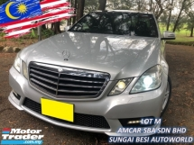 2012 MERCEDES-BENZ E-CLASS E250 CGI BlueEFCY AVANTGARDE (A) PUSH/START S/ROOF