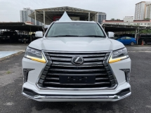 2018 LEXUS LX570 FULL SPEC UNREG