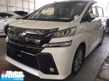 2017 TOYOTA VELLFIRE 2.5 GOLDEN EYE UNREG TRUE YEAR MADE CAN PROVE.PRE CRASH.7 SEAT.ORI 3 POWER DRS N BOOT.360 CAMERA ETC