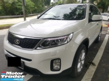 2014 KIA SORENTO 2014 KIA SORENTO 2.4 (A) FULL SERVICE RECORD  NEW MODEL  7 FULL LEATHER SEAT