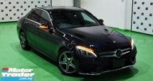 2018 MERCEDES-BENZ C-CLASS 2018 MERCEDES C180 1.6 AMG SPEC ORIGINAL FROM JAPAN UNREG CAR SELLING PRICE ( RM 218000.00 NEGO )