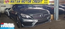 2018 MERCEDES-BENZ C-CLASS C300 COUPE AMG 2.0CC FULLSPEC.TRUE YEAR N MILEAGE CAN PROVE.PANAROMIC ROOF.SOUND SYSTEM.REVERSE CAM.MEMORY SEAT.LEATHER.PADDLE SHIFT.LED LIGHT.KEYLESS.POWER BOOT.PUSH START N ETC.FREE WARRANTY N MANY GIFTS