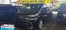 2016 TOYOTA VELLFIRE 2.5 ZA Z UNREG.LESS SST.TRUE YEAR CAN PROVE.7 SEATERS.3 POWER DRS N BOOT.360 SURROUND CAMERA.SUNROOF